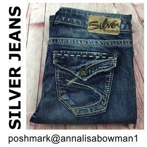 💸Silver Jeans SURPLUS Bootcut denim jean size 26